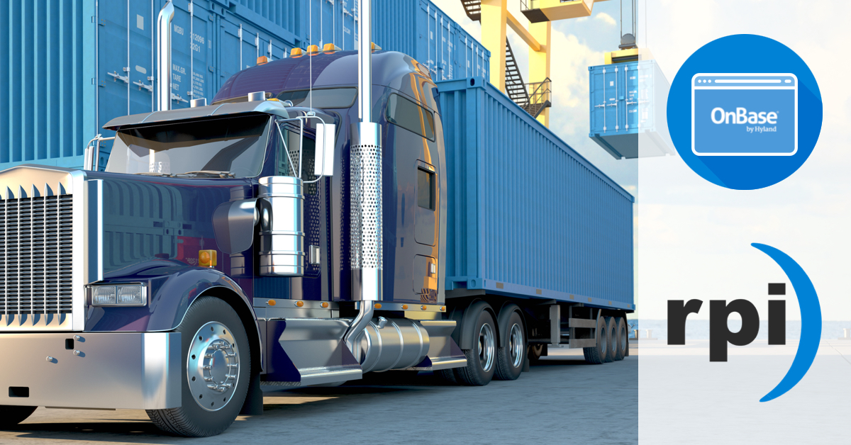 Leveraging Onbase By Hyland For Freight Bills Of Lading