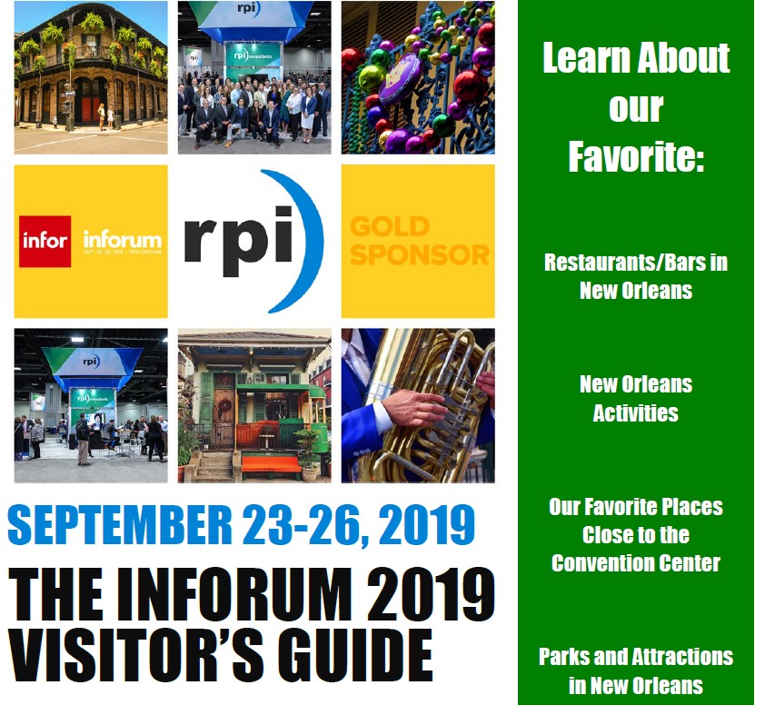 Inforum Visitor's Guide Thumbnail